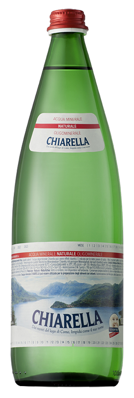 Chiarella green glass 1 l natural